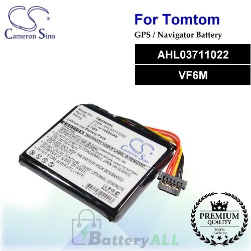 CS-TMG800SL For TomTom GPS Battery Model AHL03711022 / VF6M