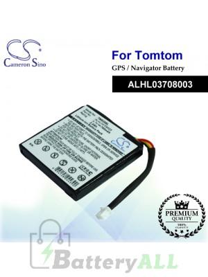 CS-TMS25SL For TomTom GPS Battery Model ALHL03708003
