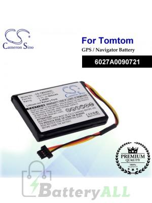 CS-TMS550SL For TomTom GPS Battery Model 6027A0090721