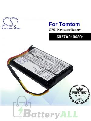 CS-TMX2SL For TomTom GPS Battery Model 6027A0106801