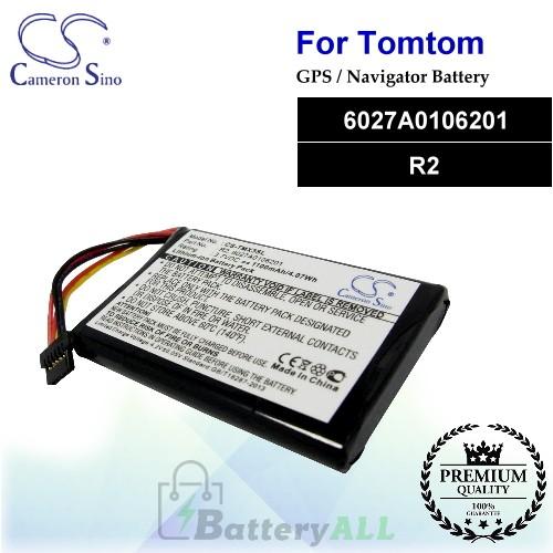 CS-TMX3SL For TomTom GPS Battery Model 6027A0106201 / R2