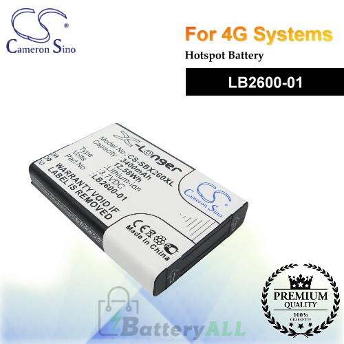 CS-SBX260XL For 4G Systems Hotspot Battery Model LB2600-01