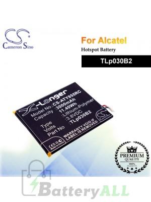CS-ATY855RC For Alcatel Hotspot Battery Model TLp030B2