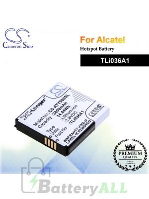CS-ATY900SL For Alcatel Hotspot Battery Model TLi036A1
