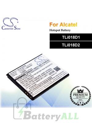 CS-OT503SL-2 For Alcatel Hotspot Battery Model TLi018D1 / TLi018D2