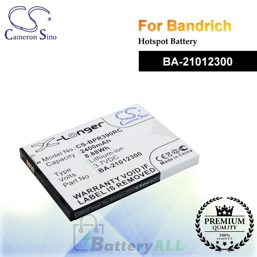 CS-BPR390RC For BandRich Hotspot Battery Model BA-21012300