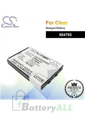 CS-HPC600RX For Clear Hotspot Battery Model 884765