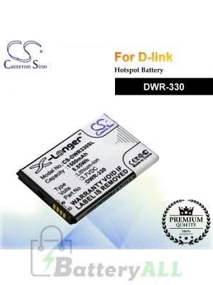CS-DWR330SL For D-Link Hotspot Battery Model DWR-330
