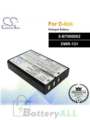 CS-EX6210RC For D-Link Hotspot Battery Fit Model 5-BT000002 / DWR-131
