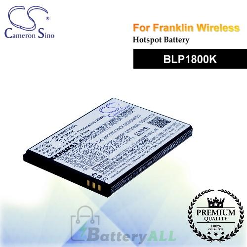 CS-FWR722SL For Franklin Wireless Hotspot Battery Model BLP1800K