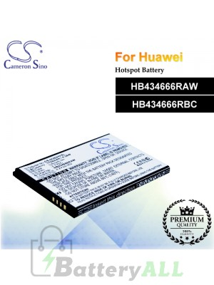 CS-HUE557SL For Huawei Hotspot Battery Model HB434666RAW / HB434666RBC