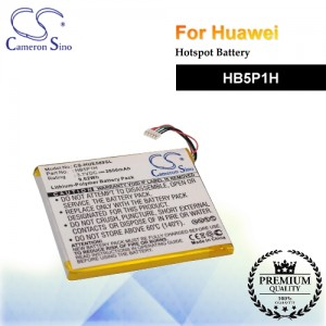 CS-HUE589SL For Huawei Hotspot Battery Model HB5P1H
