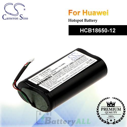 CS-HUE730SL For Huawei Hotspot Battery Model HCB18650-12