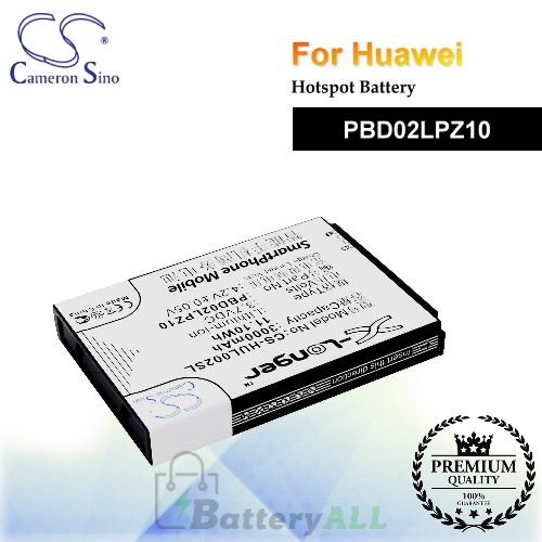 CS-HUL002SL For Huawei Hotspot Battery Model PBD02LPZ10