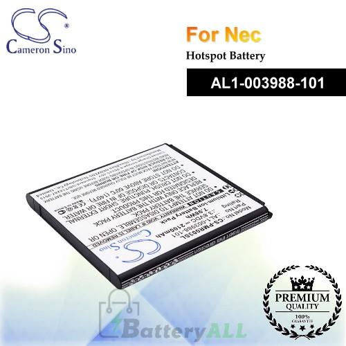 CS-PMR003SL For NEC Hotspot Battery Model AL1-003988-101