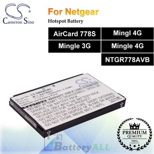 CS-SWA883RC For Netgear Hotspot Battery Fit Model AirCard 778S / Mingl 4G / Mingle 3G / Mingle 4G / NTGR778AVB