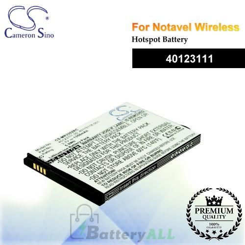 CS-MR3352RC For Novatel Wireless Hotspot Battery Model 40123111