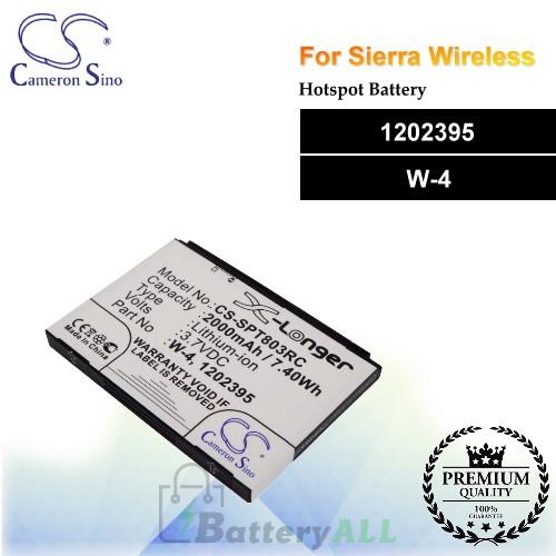 CS-SPT803RC For Sierra Wireless Hotspot Battery Model 1202395 / W-4