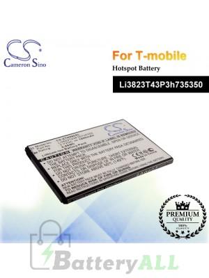 CS-ZTN986SL For T-Mobile Hotspot Battery Model Li3823T43P3h735350