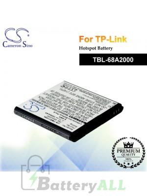 CS-TMR110SL For TP-Link Hotspot Battery Model TBL-68A2000