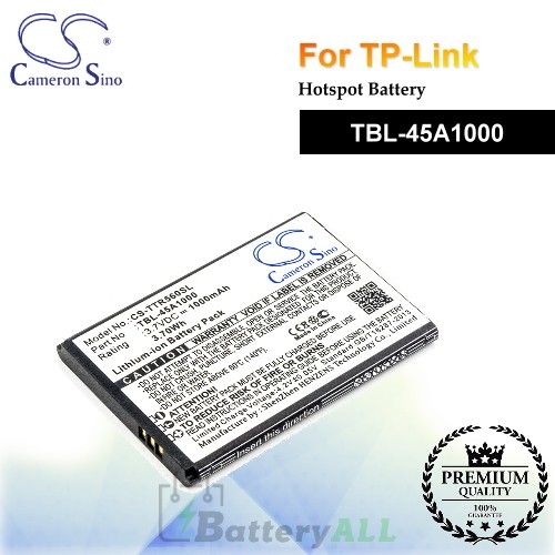 CS-TTR560SL For TP-Link Hotspot Battery Model TBL-45A1000