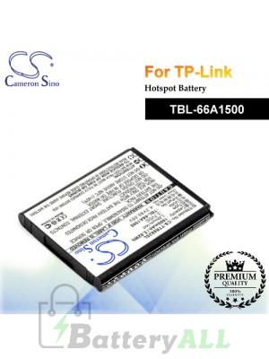 CS-TTR882SL For TP-Link Hotspot Battery Model TBL-66A1500