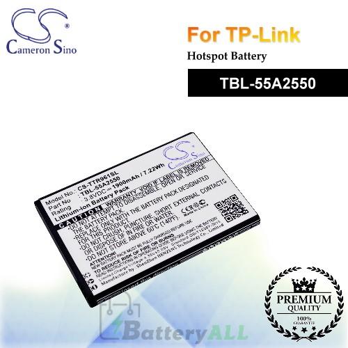 CS-TTR961SL For TP-Link Hotspot Battery Model TBL-55A2550