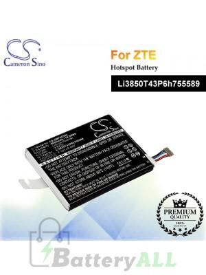 CS-ZMF203SL For ZTE Hotspot Battery Model Li3850T43P6h755589