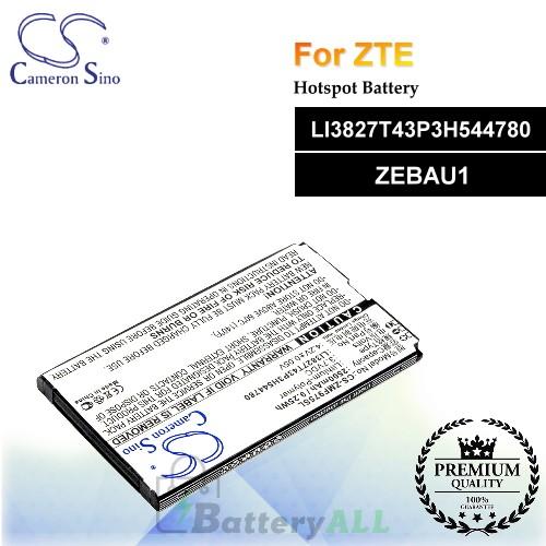 CS-ZMF975SL For ZTE Hotspot Battery Model LI3827T43P3H544780 / ZEBAU1