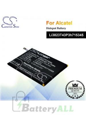 CS-ZTF230SL-2 For ZTE Hotspot Battery Model Li3823T43P3h715345
