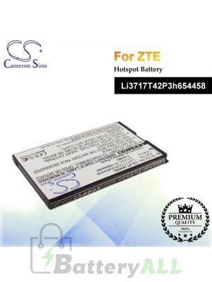 CS-ZTJ890SL For ZTE Hotspot Battery Model Li3717T42P3h654458