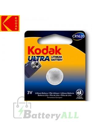 Kodak ULTRA Lithium CR1620 / 5009LC 3.0V Battery (1 pack)