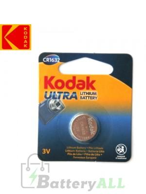 Kodak ULTRA Lithium CR1632 / KCR1632 / DL1632 / E-CR1632 3.0V Battery (1 pack)