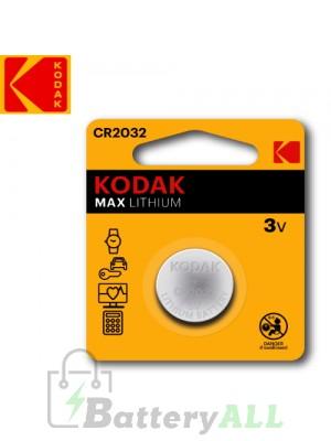 Kodak ULTRA Lithium CR2032 / 5004LC 3.0V Battery (1 pack)