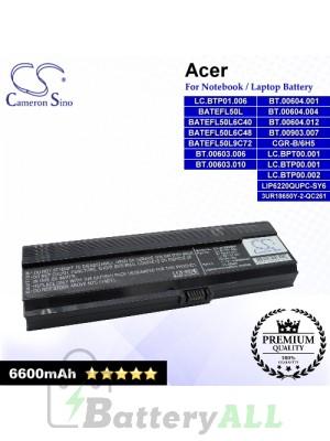 CS-AC3200DB For Acer Laptop Battery Model 3UR18650Y-2-QC261 / BATEFL50L / BATEFL50L6C40 / BATEFL50L6C48