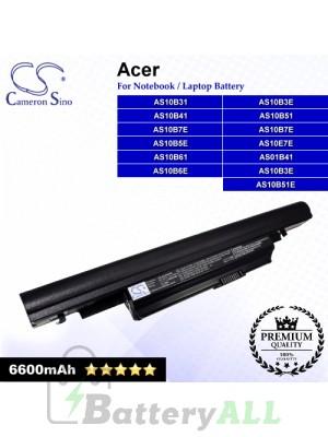 CS-AC4820HB For Acer Laptop Battery Model 934T2085F / AK.006BT.082 / AS01B41 / AS10B31 / AS10B3E / AS10B41