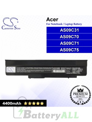 CS-AC5634NB For Acer Laptop Battery Model AS09C31 / AS09C70 / AS09C71 / AS09C75