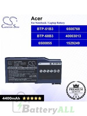 CS-ACV90NB For Acer Laptop Battery Model 1529249 / 40003013 / 6500768 / 6500855 / BTP-51B3 / BTP-68B3