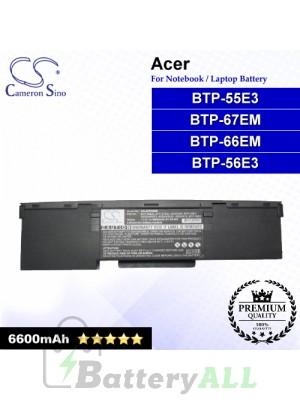 CS-ATP55NB For Acer Laptop Battery Model 40004490 / 40004490(P) / 40004490(S) / 40004518 / 40005564 / 60.46D01.041