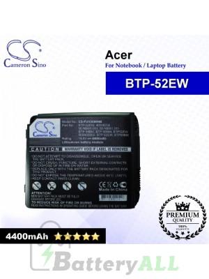 CS-FUV2000NB For Acer Laptop Battery Model BTP-52EW