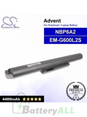 CS-ADM800NB For Advent Laptop Battery Model EM-G600L2S