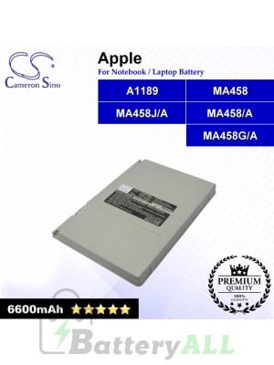 CS-AM1189NB For Apple Laptop Battery Model A1189 / MA458 / MA458/A / MA458G/A / MA458J/A