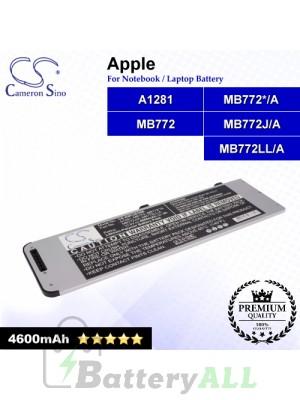 CS-AM1281NB For Apple Laptop Battery Model A1281 / A1286 / MB772 / MB772*/A / MB772J/A / MB772LL/A