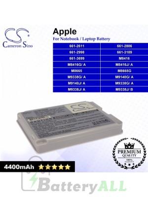CS-AM8665HB For Apple Laptop Battery Model 661-2611 / 661-2886 / 661-2998 / 661-3189 / 661-3699 / M8416