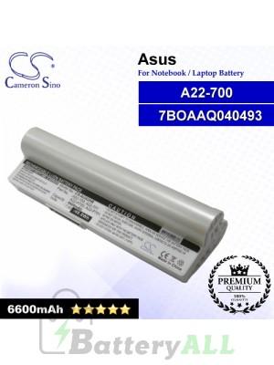 CS-AUA2HB For Asus Laptop Battery Model 7BOAAQ040493 / 90-OA001B1100 / A22-700 / A22-P701 / Eee PC P900 (White)