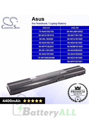 CS-AUA3 For Asus Laptop Battery Model 70-NA51B1100 / 70-NA51B2100 / 70-NFH5B2000M / 90-NA51B1000