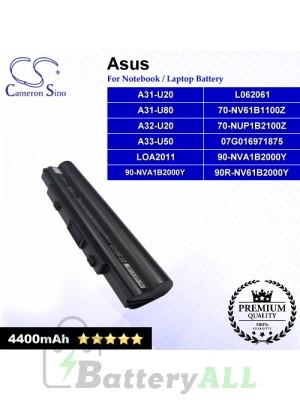 CS-AUA31NB For Asus Laptop Battery Model 07G016971875 / 70-NUP1B2100Z / 70-NV61B1100Z / 90-NVA1B2000Y