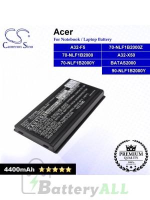CS-AUF5NB For Asus Laptop Battery Model 70-NLF1B2000 / 70-NLF1B2000Y / 70-NLF1B2000Z / 90-NLF1B2000Y