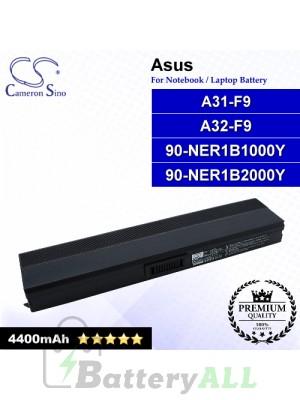 CS-AUF9NB For Asus Laptop Battery Model 90-NER1B1000Y / 90-NER1B2000Y / A31-F9 / A32-F9