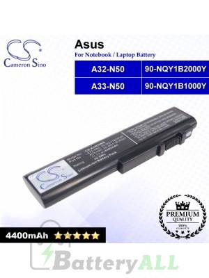 CS-AUN50NB For Asus Laptop Battery Model 90-NQY1B1000Y / 90-NQY1B2000Y / A32-N50 / A33-N50